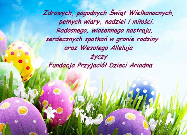 Wielkanoc 2014 Fundacja Ariadna
